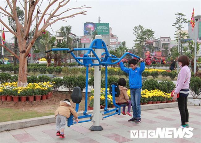 Cận cảnh công viên đẹp nhất Hải Phòng chưa hoàn thành bị cho là sai phạm - Ảnh 13.