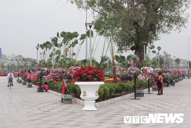 Cận cảnh công viên đẹp nhất Hải Phòng chưa hoàn thành bị cho là sai phạm - Ảnh 8.
