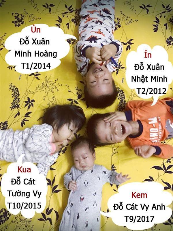 "day con tu lap tu nho, me ""5 nam sinh lien 4 con"" van nhan tenh, doc sach moi ngay - 1"