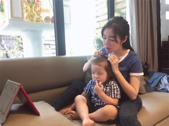 Elly Trần, con trai của Elly Trần, Alfie Túc Mạch