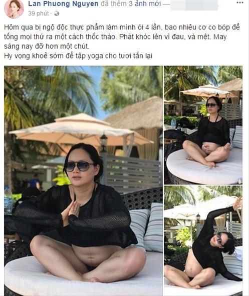 Diễn viên Lan Phương bất ngờ khiến người hâm mộ lo lắng ngộ độc thực phẩm khi mang bầu. - Tin sao Viet - Tin tuc sao Viet - Scandal sao Viet - Tin tuc cua Sao - Tin cua Sao