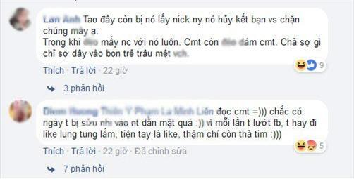 """chi vi lo tay like anh ban nam, co gai bi """"thanh ghen"""" dan mat, chui khong tiec loi - 3"""
