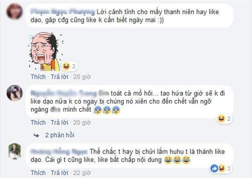 """chi vi lo tay like anh ban nam, co gai bi """"thanh ghen"""" dan mat, chui khong tiec loi - 4"""