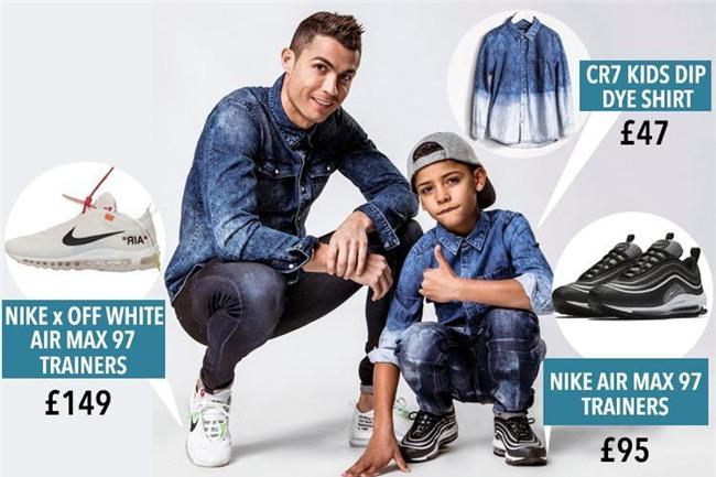 Không chỉ hưởng gen đá bóng từ bố, con trai Ronaldo còn cực sành thời trang - Ảnh 6.