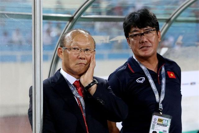HLV Park Hang Seo là người rất nhanh trong việc điều chỉnh đấu pháp
