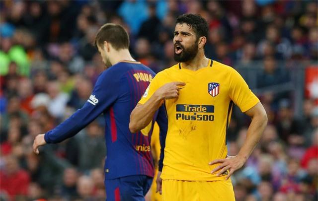 Atletico thi đấu rất nỗ lực trong hiệp 2 nhưng không tạo ra được nhiều sóng gió về phía khung thành Barca