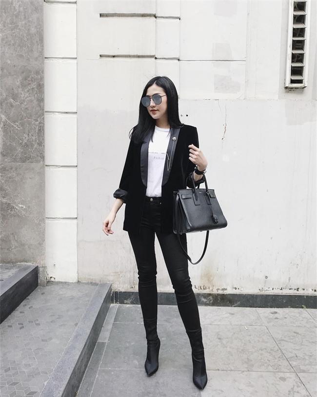 Tìm kiếm gợi ý diện đồ công sở từ chính phong cách của các người đẹp Việt - Ảnh 12.
