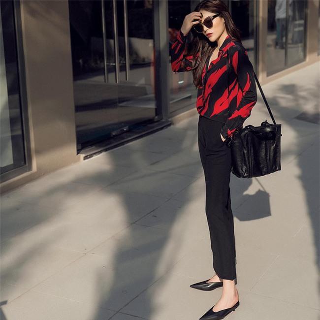 Tìm kiếm gợi ý diện đồ công sở từ chính phong cách của các người đẹp Việt - Ảnh 23.