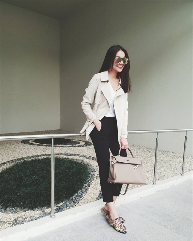 Tìm kiếm gợi ý diện đồ công sở từ chính phong cách của các người đẹp Việt - Ảnh 25.