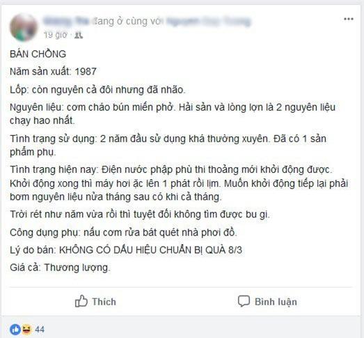 """cuoi rot ham voi nhung man """"rao ban chong"""" vi toi """"khong co dau hieu chuan bi qua 8/3""""! - 1"""