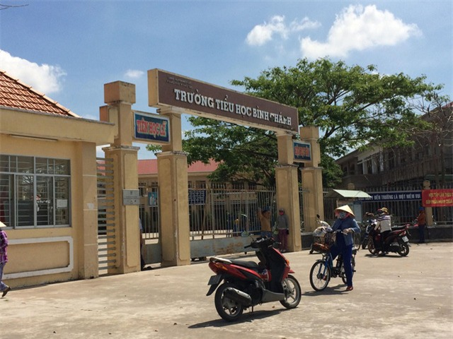 Trường tiểu học Bình Chánh, Bến Lức, Long An