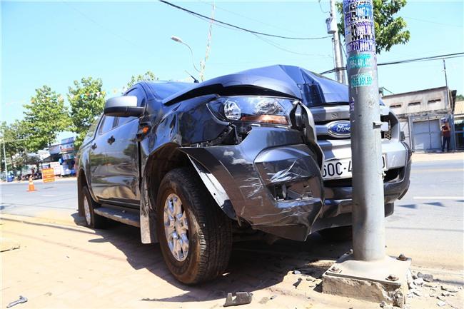 Vụ chiến sĩ CSGT bị ô tô chở thuốc lá lậu tông văng xuống đường: 2 tài xế dương tính với ma tuý - Ảnh 4.