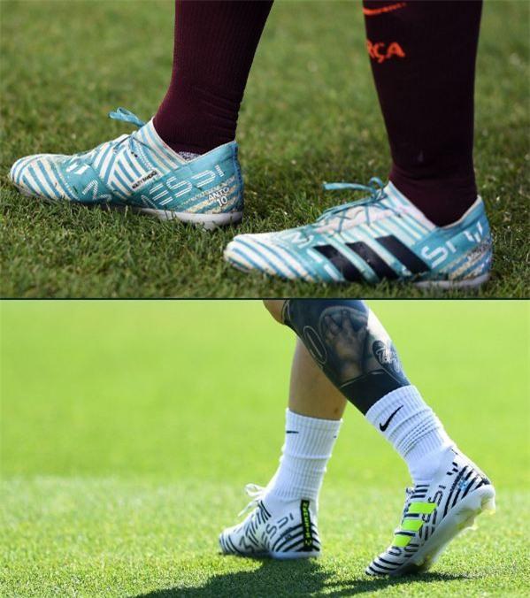 Bộ sưu tập giày thi đấu độc nhất từng được Messi sở hữu - Ảnh 11.