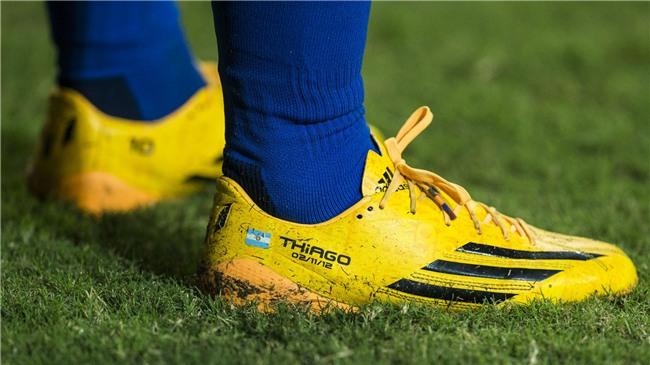 Bộ sưu tập giày thi đấu độc nhất từng được Messi sở hữu - Ảnh 7.