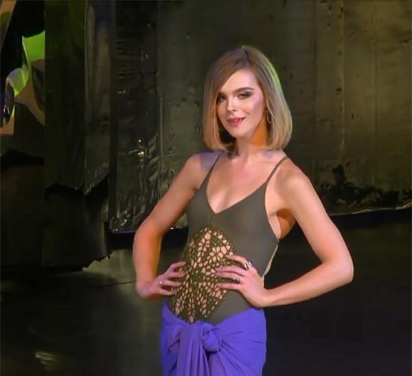 Đại diện Colombia lộ vòng 3 dị dạng khi mặc bikini tại Hoa hậu Chuyển giới Quốc tế 2018-5