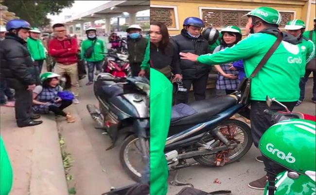 Hà Nội: Xôn xao chuyện Grab bắt bà bầu đền chắn xích xe máy giá 700.000đ vào ngày 8/3