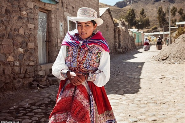 Một phụ nữ tại Peru