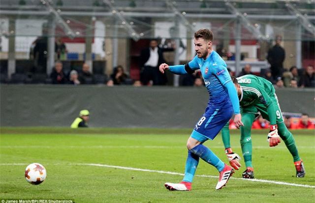 Ramsey chính là người luôn giữ được phong độ ổn định trong màu áo Arsenal mùa giải này