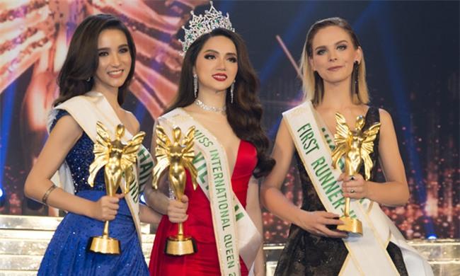 Huong Giang Idol dang quang Hoa hau Chuyen gioi Quoc te 2018 hinh anh 1