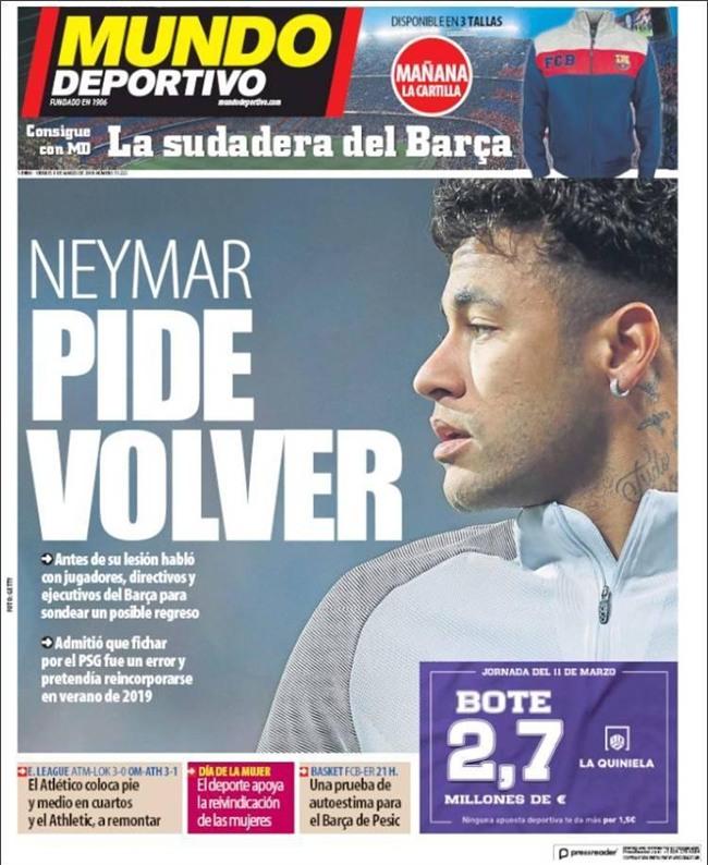 Neymar thừa nhận sai lầm, muốn trở lại Barca - Ảnh 2.