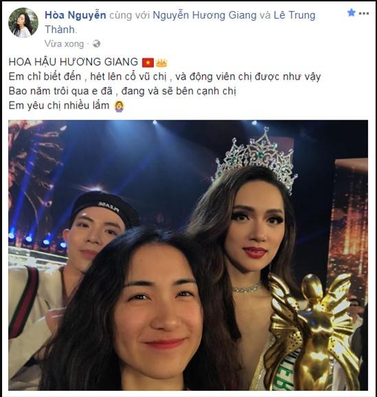 Làng giải trí Việt vỡ òa khi Hương Giang đăng quang Hoa hậu Chuyển giới Quốc tế 2018-5