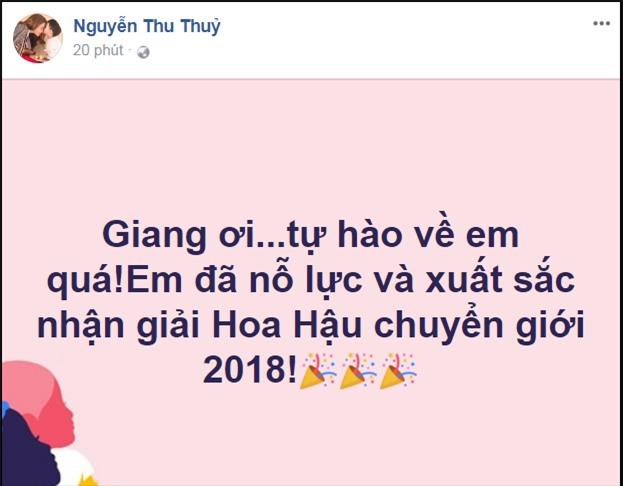 Làng giải trí Việt vỡ òa khi Hương Giang đăng quang Hoa hậu Chuyển giới Quốc tế 2018-7