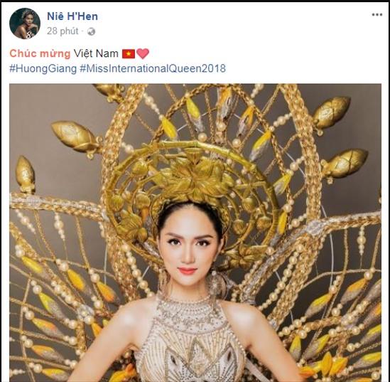 Làng giải trí Việt vỡ òa khi Hương Giang đăng quang Hoa hậu Chuyển giới Quốc tế 2018-8