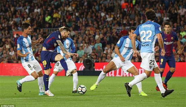 Messi đang đạt phong độ ghi bàn rất cao tại La Liga