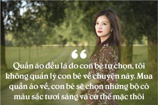 """trieu vy - ba me voi nhung phuong phap day do lanh lung de con gai tro thanh """"nu hoang"""" - 8"""