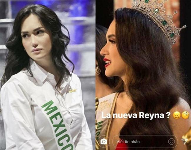 Hoa hậu chuyển giới Mexico nghi ngờ về vương miện của Hương Giang-1