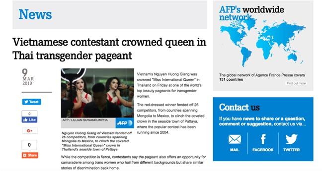 Giải thưởng khủng mà Hương Giang nhận được khi trở thành Tân Hoa hậu Chuyển giới Quốc tế 2018 - Ảnh 3.