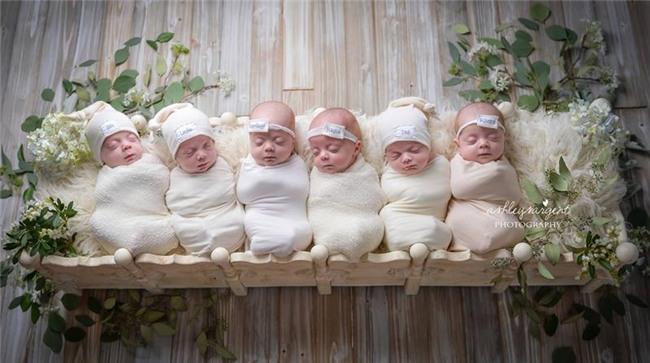 Hình ảnh 6 thiên thần trong ca sinh 6 ở bang Alabama (Mỹ) đang gây xôn xao mạng xã hội.