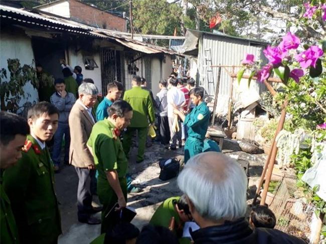Cận cảnh hiện trường vụ cháy kinh hoàng làm 5 người tử vong ở Đà Lạt - Ảnh 8.