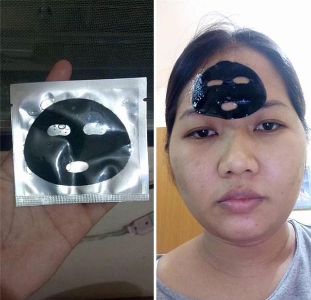 Chị em chắc hẳn sẽ vô cùng thất vọng khi nhận được chiếc mặt nạ làm đẹp này.
