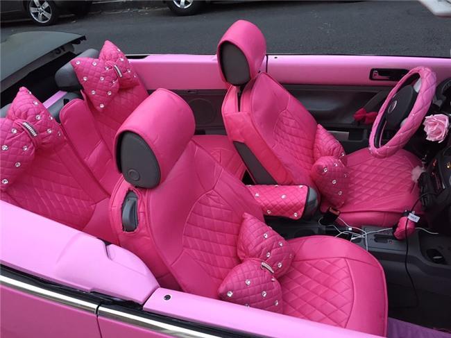 Chiêm ngưỡng căn phòng độc lạ của quý bà U50 cuồng màu hồng nhất thế giới-6