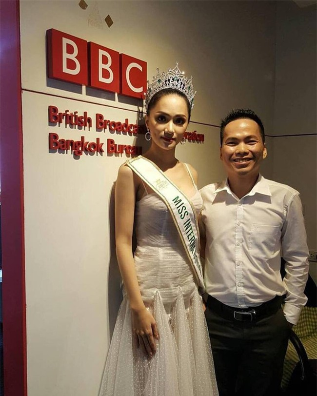 Hương Giang lại ghi điểm với câu trả lời về thông tin đối thủ Mexico không phục kết quả Hoa hậu - Ảnh 1.