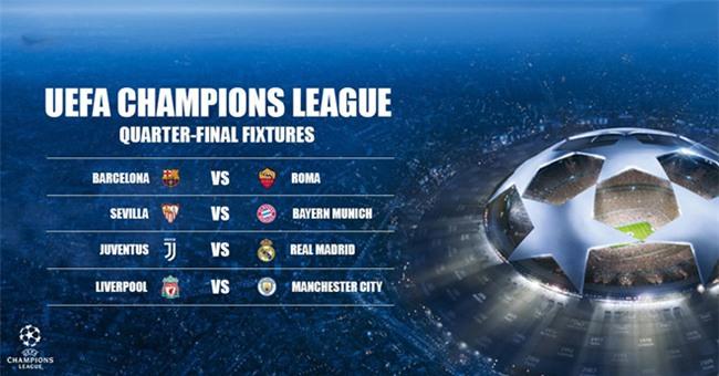 Liverpool gap Man City, Juve doi dau Real o tu ket Champions League hinh anh 1