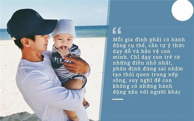 Làm bố khi không còn trẻ, Lý Hải có những quan điểm dạy con rất cứng rắn.