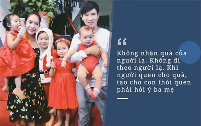 Các con của Lý Hải Minh Hà được dạy dỗ cẩn thận khi giao tiếp với người lạ.