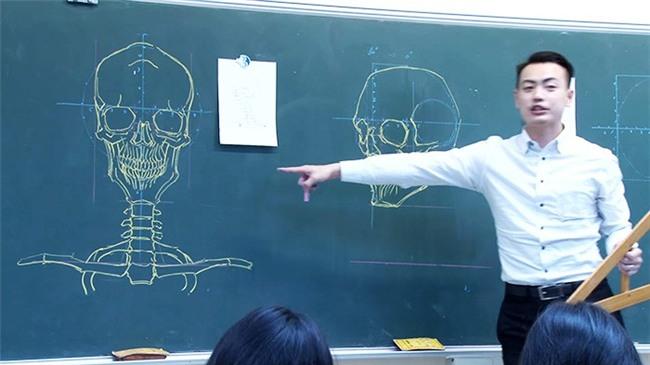 Thầy giáo nhà người ta: Vừa điển trai lại vẽ hình minh họa cực đẹp khiến học sinh mê mẩn - Ảnh 9.