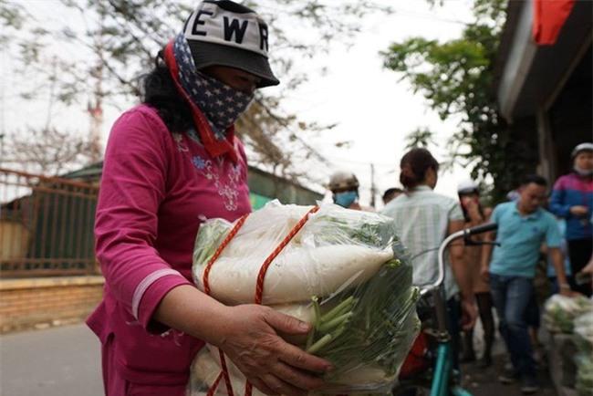 Hàng trăm người dân Hà Nội háo hức giải cứu củ cải trắng cho nông dân Tráng Việt - Ảnh 11.