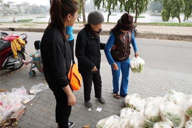 Hàng trăm người dân Hà Nội háo hức giải cứu củ cải trắng cho nông dân Tráng Việt - Ảnh 6.