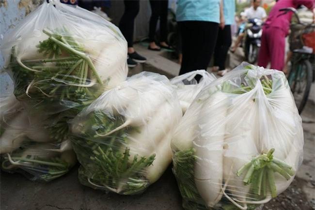 Hàng trăm người dân Hà Nội háo hức giải cứu củ cải trắng cho nông dân Tráng Việt - Ảnh 18.