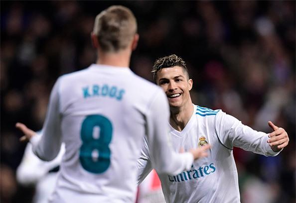 Ronaldo lap poker, Real gianh chien thang 6-3 truoc Girona hinh anh 2