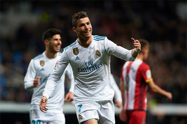 Ronaldo lap poker, Real gianh chien thang 6-3 truoc Girona hinh anh 4