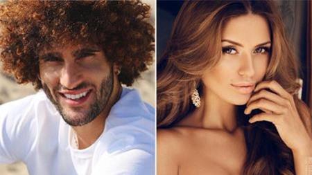 Marouane Fellaini và bạn gái được đánh giá là một cặp trai tài, gái sắc