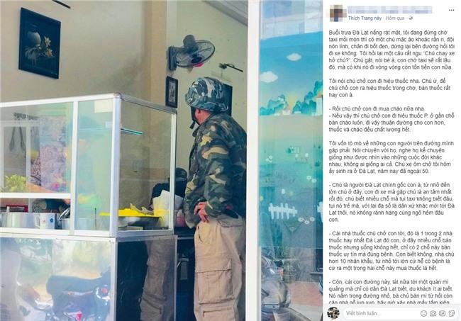 Câu chuyện về chú xe ôm tốt bụng ở Đà Lạt, rong ruổi khắp các ngả đường để đưa khách đi mua thuốc, cháo cho người ốm mà không lấy thêm tiền - Ảnh 1.
