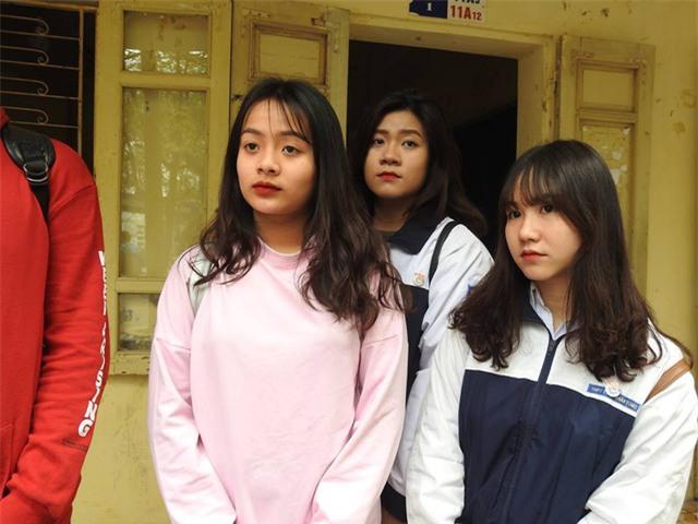 Các học sinh của trường đang rất sợ hãi sau sự việc ngày hôm qua