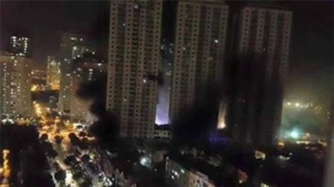 cháy chung cư,Carina Plaza,phòng cháy chữa cháy