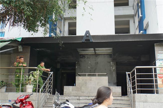 cháy lớn,cháy chung cư,chung cư Carina,Chung cư cao cấp,cháy lớn ở TP.HCM